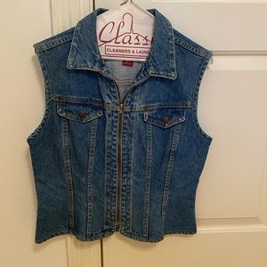 The Limited Jeans size small denim vest